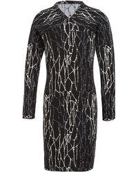 Jonathan Simkhai Spill Sheath Dress black - Lyst