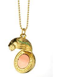 Monica Rich Kosann - Venus Inner Beauty 18K Gold Charm Necklace - Lyst