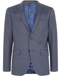 Etro Herringbone Jacket - Lyst