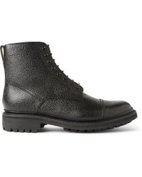 Foot The Coacher - Joseph Country-Grain Leather Boots - Lyst