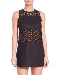Tory Burch | Linen Crochet A-line Dress | Lyst