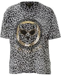 Juicy Couture Leopard Frame Tee - Lyst