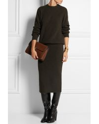 Christophe Lemaire - Ribbed Merino Wool And Yak-Blend Jumper - Lyst
