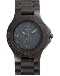 WeWood - 'kale' Wood Bracelet Watch - Lyst