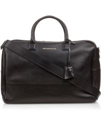Want Les Essentiels De La Vie - Douglas Leather Holdall Bag - Lyst
