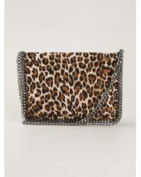 Stella McCartney Falabella Leopard-Print Cross-Body Bag - Lyst