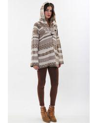 Goddis - Avril Hooded Jacket In Driftwood - Lyst
