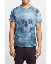 Diesel 'Eirene' Print T-Shirt - Lyst