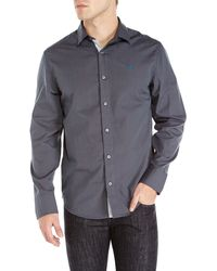 Original Penguin Contrast Pinstripe Classic Fit Sport Shirt - Lyst