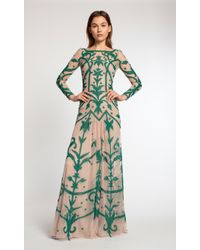 Temperley London Long Francine Tattoo Dress - Lyst