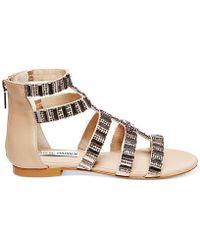 Steve Madden Cameoo Flat Sandals - Lyst