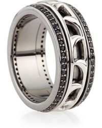 Stephen Webster Mens Thorn Spinning Band Ring - Lyst