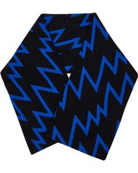Christopher Kane   Lightening Bolt Cashmere And Wool-Blend Scarf   Lyst