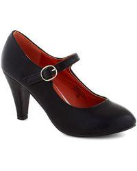 In Touch Footwear Member Of The Board Heel in Black - Lyst