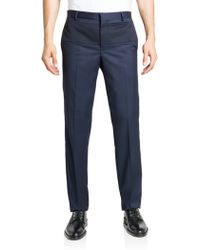 Givenchy Slim-Fit Wool Trousers - Lyst