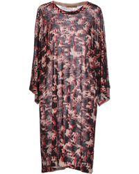 Jean Colonna - Short Dress - Lyst