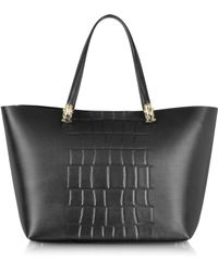 Class Roberto Cavalli Panthera Small Tote Bag - Lyst