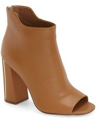 CALVIN KLEIN 205W39NYC - Lulah Leather Ankle Boots - Lyst