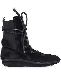 Balenciaga Eskimo Calf-hair Boots - Lyst