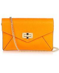 Diane von Furstenberg | 440 Gallery Bitsy Leather Cross-body Bag | Lyst