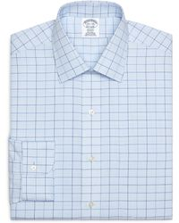 Brooks Brothers Non-Iron Milano Fit Alternating Tattersall Dress Shirt - Lyst