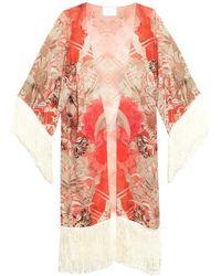 Athena Procopiou - Corelli's Lover Silk Kimono Cover-up - Lyst