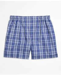 Brooks Brothers   Traditional Fit Large Plaid Boxers   Lyst