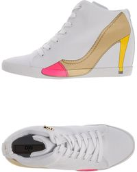 Olo High-Tops & Trainers white - Lyst