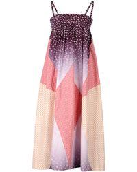 Cosmic Wonder - 3/4 Length Dress - Lyst