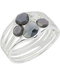 Robert Lee Morris - Shimmer Openwork Jewelled Bracelet - Lyst