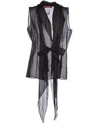 Max Mara Studio Shirt black - Lyst