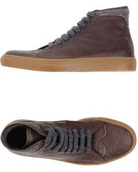 Eleventy - Hightops  Trainers - Lyst