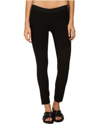 Helmut Lang Compress Twill Jersey Pant - Lyst