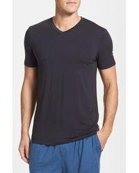 Michael Kors Stretch Modal V-Neck T-Shirt - Lyst