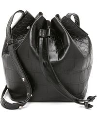 Rachael Ruddick | Beach Bucket Bag - Black | Lyst