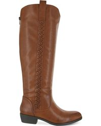 Mia Crossings Tall Widecalf Boots - Lyst