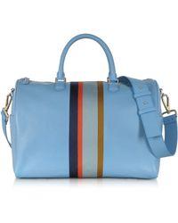 e474f71541a Paul Smith Men S 24 Hours Maharam Stripe Bowling Bag in Blue for Men ...