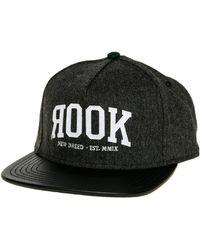 28f74fd3ffe Rook - The Classic Snapback Hat - Lyst