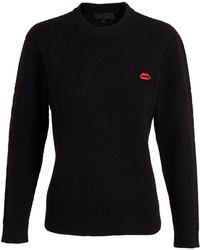 American Retro Lips Pin Sweatshirt - Lyst