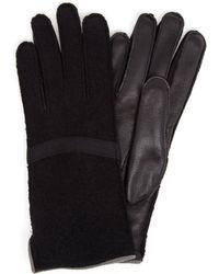 Frauenschuh Gloria Wool And Nappa Leather Glove - Lyst