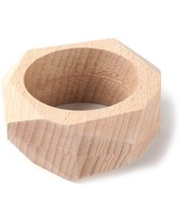 The Medley Institute - Oversized Wooden Bracelet - Lyst