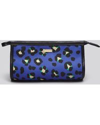 Kate Spade Cosmetic Case Cobble Hill Fabric Small Iris - Lyst