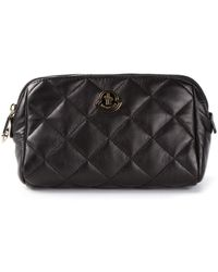 Moncler Grenoble Quilted Zipped Clutch - Lyst