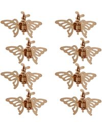 Topshop Butterfly Hair Clips - Lyst