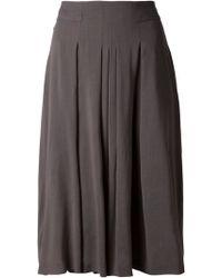 Akris Pleated Skirt - Lyst