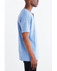 BDG - Tri-blend Buttonless Standard-fit Henley Tee - Lyst