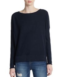 Vince Slub Cotton Sweater - Lyst