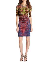 M Missoni Intarsia-knit Dress - Lyst