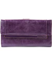 Kenneth Cole Reaction Raising The Bar Flap Clutch - Lyst