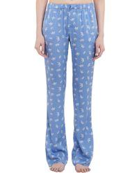 Piamita - Crownprint Nan Pyjama Trousers - Lyst
